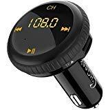 CHGeek-Bluetooth-FM-Transmitter-5V21A-KFZ-Auto-Lokalisierer-Wireless-mp3-Player-Audio-Radio-Adapter-freisprecheinrichtung-mit-2-USB-Ladegert-LED-Anzeige-fr-iOS-und-Android-Gerte