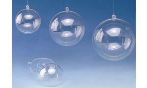 GLOREX-Kunststoff-Kugel-Kunstsoff-Transparent-6-x-6-x-6-cm