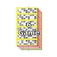 Jumbo-Bingo-Ticket-6-Stck-je-Bogen-verschiedene-Farben