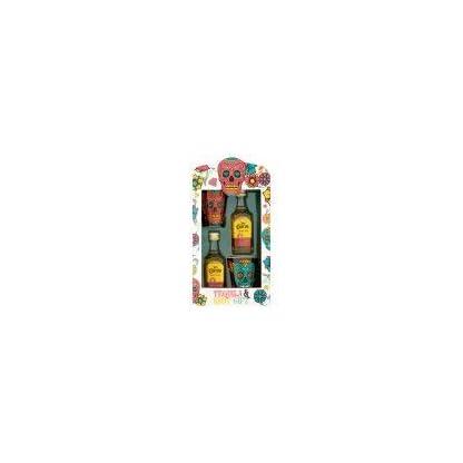 Jose-Cuervo-Tequila-Schnapsglas-Geschenkset-Tag-der-Toten-2x5cl