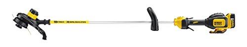 DeWalt-Rasentri-mmer-18-Volt-50-Ah-Akku-brstenlos-30-cm-Schnittbreite-zwei-Stufen-Elektronik-Bumb-Feed-Fadenverlngerung-fr-groe-Flchen-und-Grten-inkl-Akku-und-Ladegert-DCM561P1