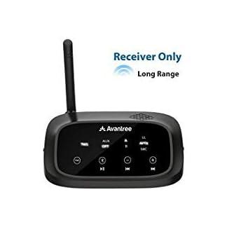 Avantree-30m-HOHE-REICHWEITE-Bluetooth-Empfnger-fr-Stereoanlage-HiFi-True-Wireless-Stereo-TWS-fr-Lautsprecher-Verstrker-aptX-Low-Latency-OPTISCH-Cinch-35mm-AUX-Audio-Adapter-Receiver-RC500