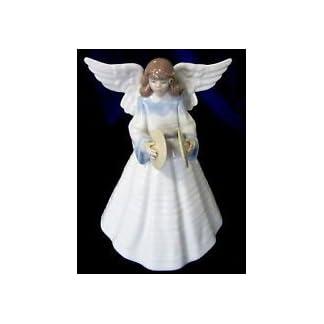 Unbekannt-Lladro-Angelic-Melodie-Angel-5963-Christbaumspitze-Retired-1993