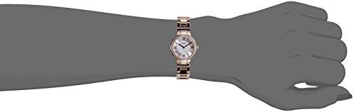 Fossil-Virginia-Edelstahl-Armbanduhr-mit-Quarz-Uhrwerk–Stylische-Analoguhr-mit-Glitzersteinen-auf-Gehuse-Uhrenarmband-fr-einen-glamoursen-Auftritt