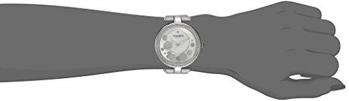 Akribos-XXIV-Damen-Diamant-Silber-Sonnenstrahl-Diamant-Zifferblatt-Quarz-Armbanduhr