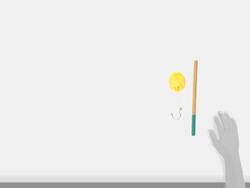 Janod-J03246-Angel-Spiel-Enten-Kunststoff-In-Tragetasche