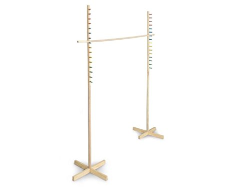 17M-Large-Wooden-Limbo-Game-Frame-Pole-Bar-Pub-Kids-Adults-GardenIndoor-Adjustable-Bar-Fun-Party-Sports-Day-Family-Picnic-Birthday-Sun-Summer-Beach-by-E-Bargains