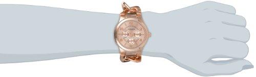 Akribos-XXIV-Damen-Armbanduhr-Ultimate-Analog-Quarz-mit-Legierung-Armband