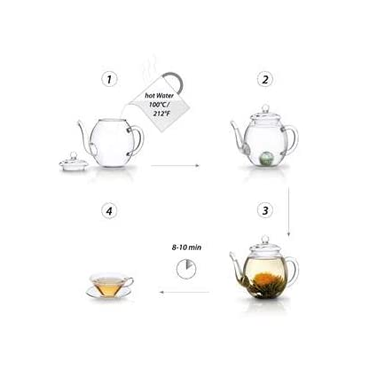 Creano-Teeblumen-Geschenkset-in-Teekiste-aus-Holz-12-ErblhTee-Frhjahrslese-in-6-Sorten-Weier-Tee