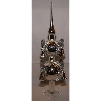 Christbaumspitze-silber-mit-8-Glocken-mit-leonischem-Draht-umsponnen