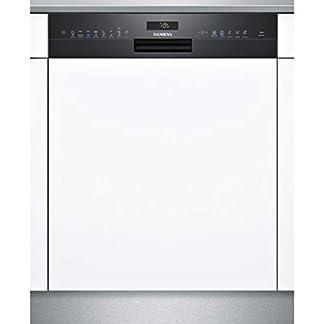 Siemens-IQ500-sn558b09me-Semi-integrierter-14places-A-Splmaschine–Geschirrsplmaschinen-Semi-Integriert-maximale-Gre-60-cm-schwarz-griffig-175-m-14-m