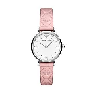 Emporio-Armani-Damen-Analog-Quarz-Uhr-mit-Leder-Armband-AR11205