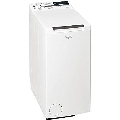 Whirlpool-TDLR-7221-Waschmaschine-freistehend-7-kg-A-Wei-Waschmaschine-freistehend-Toplader-wei-Tasten-drehbar