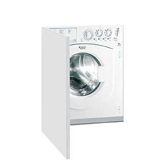HOTPOINT-AWM-1081-gehabt-integriertem-Ladekabel-Bevor-7-kg-1000trmin-A-Wei-Waschmaschine–Waschmaschinen-integriertem-bevor-Belastung-wei-links-Edelstahl-Wei
