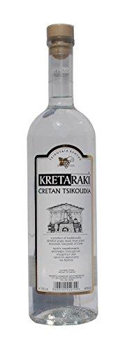 Tsikoudia-Kretaraki-700ml-40-Vol-Kreta-Raki-Griechenland-Tresterbrand-Brandwein-Creta