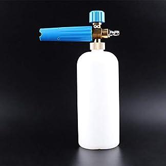Autowaschpistole-Hochdruckschaum-Topf-Alle-Kupfer-Schaum-Generator-Giekanne-Wasserpistole-Werkzeug-Pumpenreinigungszubehr-Blau