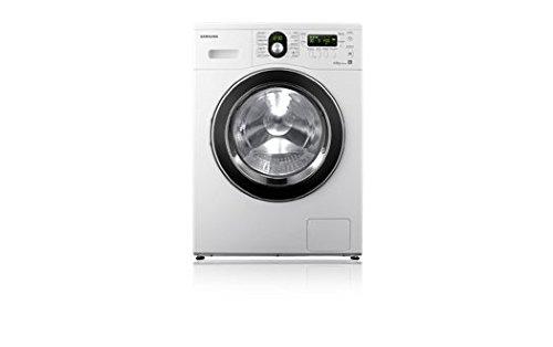 Samsung-WF8614FEA-Waschmaschine-freistehend-Frontlader-6-kg-1400-Umin-A-Silber-LED-Schwarz-Edelstahl