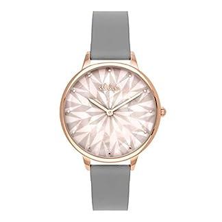 sOliver-Time-Damen-Analog-Quarz-Uhr-mit-PU-Armband
