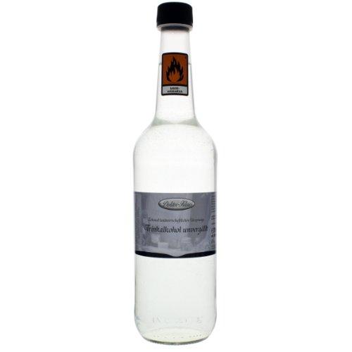 3-x-700ml-Primasprit-Trinkalkohol-Weingeist-Ethanol-699-Vol-Alc-in-weier-Glasflasche-von-Doktor-Klaus