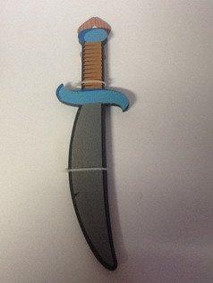 Unbekannt-Le-Coin-des-Enfants-Le-Coun-des-enfants27323-Launching-Messer-Schaumstoff-Spielzeug-One-Size