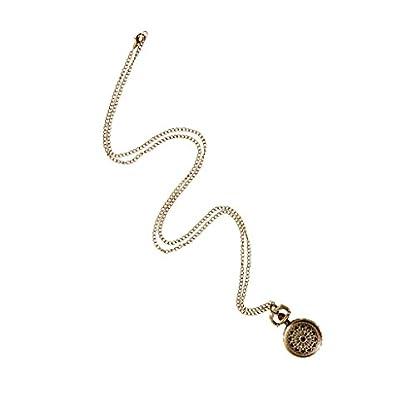 MagiDeal-Retro-Taschenuhr-Spinnen-Netz-Eingraviert-Uhr-Anhnger-Halskette-Weihnachten-Geschenke