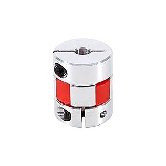Flexible-Elastischen-Kupplungskoppler-635–10mm-Klammer-Pflaume-Kupplungswelle-Fr-Schrittmotor-Aluminium