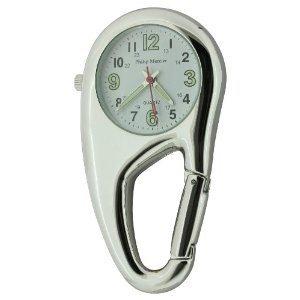 PHILIP-MERCIER-NW09A-Unisex-Taschenuhr-in-Form-eines-Karabinerhakens-fr-rzte-und-Krankenschwestern