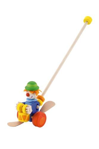 Trudi-82190-Schiebe-oder-Clown-Schiebe-und-Nachziehtiere