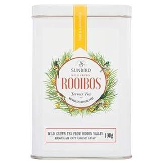 Sunbird-Rooibos-Hidden-Valley-Wilder-Rooibos-Natur-Bulk-Ganzblttrige-Bltter-Reich-an-Antioxidantien-Ohne-Koffein-Entspannungsmittel-Entgiftend-Gesunder-Tee-Aluminiumdose-100-g