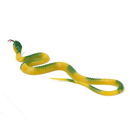 Unbekannt-Gummischlange-Gummischlangen-Trick-Schlangen-Kobra-Spielzeug