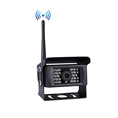Digital-Drahtloses-Rckfahrkamera-System-12v-24v-7-TFT-LCD-2-Split-Image-Monitor-18-IR-Nachtsicht-Drahtloses-Rckfahrkamera-fr-LKW-RV-Camper-Vans-Trailer-Anhnger