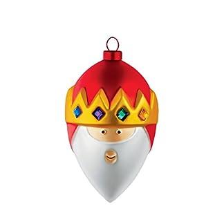 Alessi-Gaspare-Weihnachtsbaumkugel-aus-mundgeblasenem-Glas-Handdekoriert