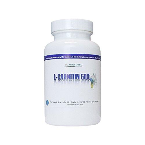 L-Carnitin 1000 mg (TD) hochdosiert, Diät, Definitionsphase ( 4 Kapseln = 3000mg L-Carnitin-Tartrat entspricht 2000mg L-Carnitine 100 Kapseln