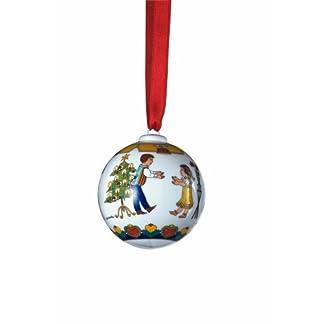 Porzellankugel-Weihnachtskugel-2008-Tanzstunde-DesignOle-Winther