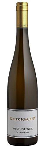 Dreissigacker-Chardonnay-Westhofener-Bio-2016-trocken-075-L-Flaschen