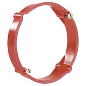 f-tronic Putzausgleichsringe, 12 mm tief, Schraubabstand 60 mm, Inhalt: 50, rot, E130