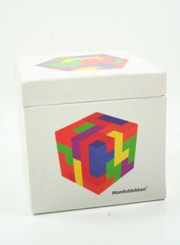 Holz-Wrfel-Manitu-Spiel-Holzzauberwrfel-Geduldspiel-Geschicklichkeitsspiel-Knobelspiel
