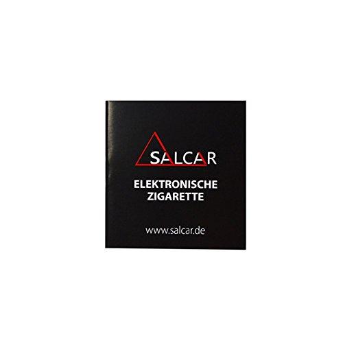 Salcar eGo-T CE4 E-Zigarette Starterset, 1,6ml Verdampfer, 1100mAh Akku, 0,00 mg Nikotin, Schwarz