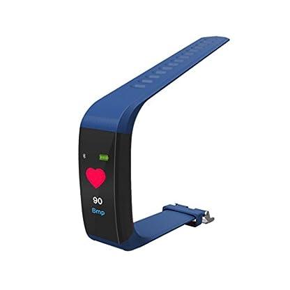 Fitness-Tracker-Smartwatch-fr-iOS-Android-VNEIRW-115plus-096inch-IPS-Farbdisplay-Sportuhren-Intelligente-Uhr-mit-Bluetooth-Blutdruck-Herzfrequenzmesser-Bildschirmgre-096-Blau