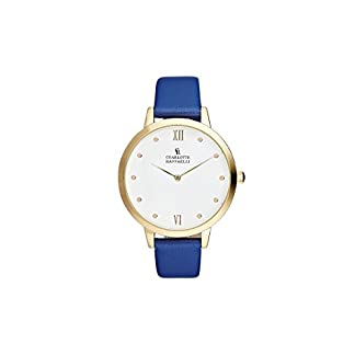 Charlotte-Raffaelli-Unisex-Analog-Quarz-Uhr-mit-Edelstahl-Armband-CRB008
