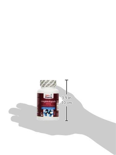 ZeinPharma L-Arginin 90 Kapseln, 1er Pack (1 x 63 g)
