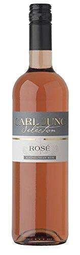 6x-CARL-JUNG-SELECTION-ROSE-ALKOHOLFREI-ROSEWEIN-075L-DEUTSCHLAND-Incl-Goodie-von-Flensburger-Handel