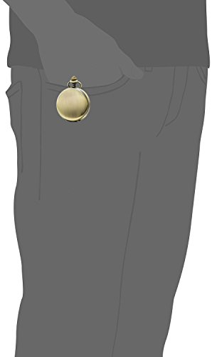 SEWOR-Classic-Glatte-Schlagflche-Mechanische-Hand-Wind-Taschenuhr-Bestes-Leder-Geschenk-Box