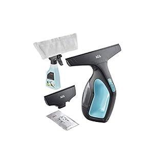 AEG-Fenstersauger-WX7-60-A2-60-Min-Laufzeit-Lithium-Power-Akku-inkl-2-Aufstze-Sprhflasche-mit-waschbarem-Mikrofaser-Wischbezug