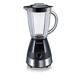 SEVERIN-Standmixer-mit-Glas-Mixbehlter-15-L-ca-550-W-SM-3718-EdelstahlSchwarz