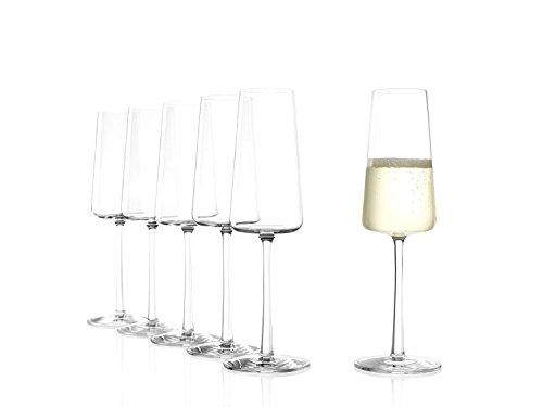 Stlzle-Lausitz-POWER-Champagnerkelch-238-ml-6er-Set-Champagnerglser-splmaschinenfest-bleifreies-Kristallglas-hochwertige-Qualitt-elegant-und-bruchbestndig