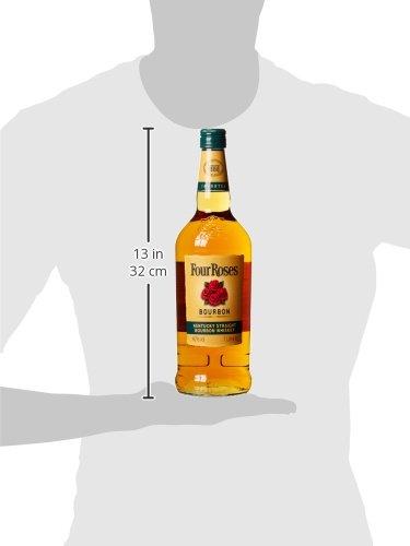 Four-Roses-Kentucky-Straight-Bourbon-Whiskey–Sanfte-Komposition-aus-10-verschiedenen-Whiskeys–Bourbon-mit-fruchtig-sem-Geschmack–1-x-1-L