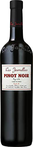 6x-075l-2016er-Les-Jamelles-Pinot-Noir-Pays-dOc-IGP-Languedoc-Frankreich-Rotwein-trocken