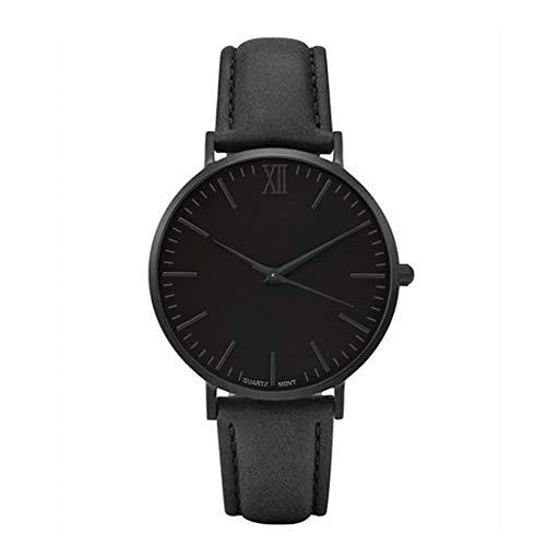 Cysincos-Herren-Klassisch-Armbanduhr-Quarz-Analog-Mnner-Einfach-Handgelenk-Uhren-mit-Rmische-Zahl-PU-Leder-Armband-Quarzuhr
