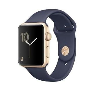 Apple-Armbanduhr-Series-2-Edelstahlgehuse-mit-Sportarmband
